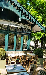 Paris, Luxembourg gardens, cafe,travel with teens