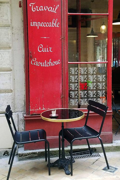 Caoutchouc, Paris, blank