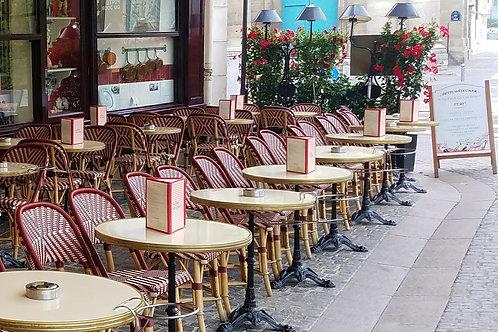 Au Pied, Paris, blank
