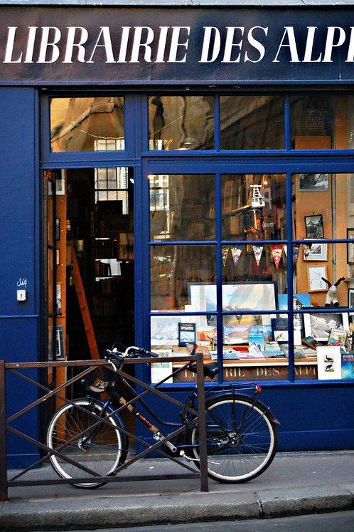La Librarie, Paris, blank