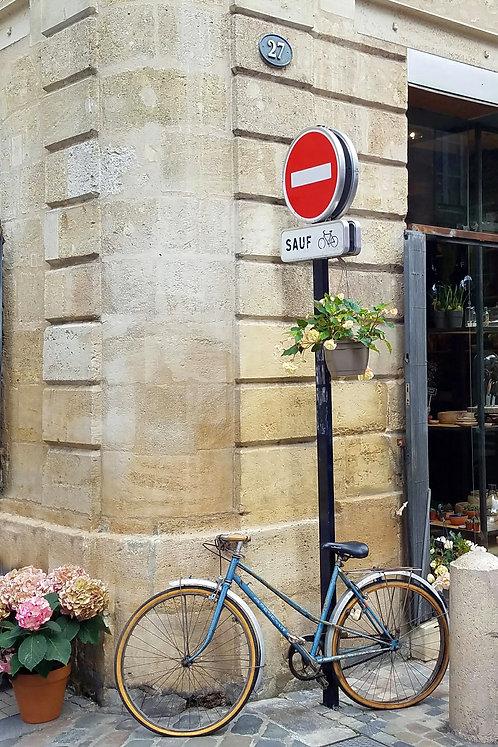 Bordeaux Bicyclette, blank