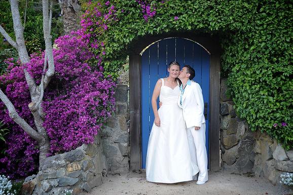 Same Sex Wedding photography, by Holman Photography, kiss