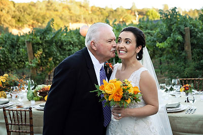Wedding photography, father and bride, Holman Photography