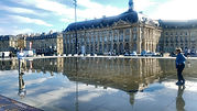 Bordeaux,reflecting pool