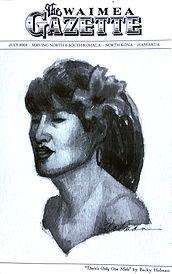 Rebecc Holman Waimea Gazette portrait