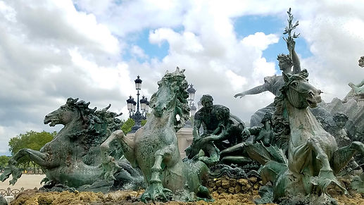 Bordeaux, France, Quinconces, fountain, Holman Photography, travel photographer