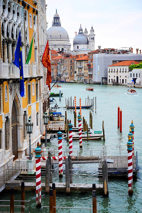 The Grand Canal, Venice, blank