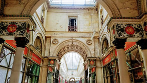 Bordeaux, France, galerie bordelaise, covered mall, Holman Photography, travel photographer