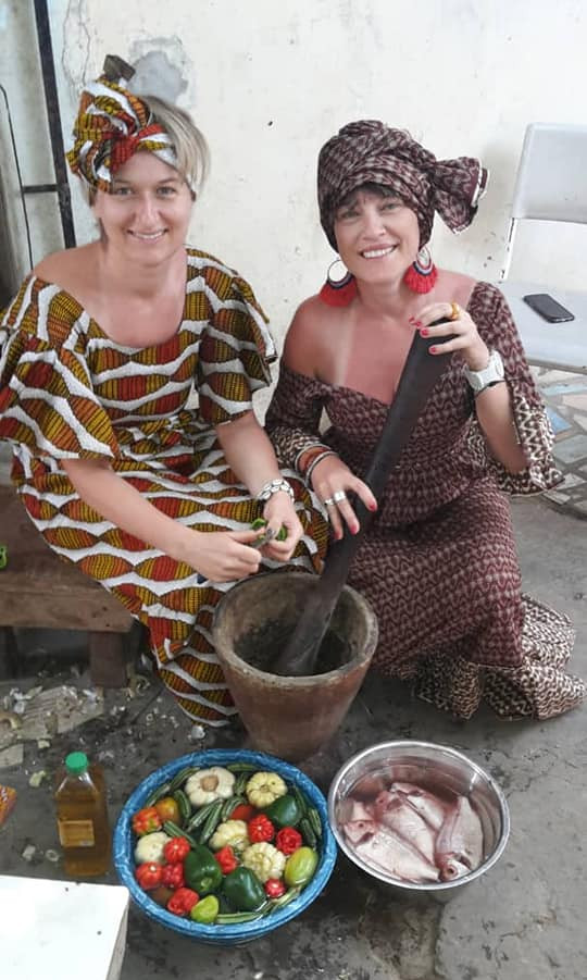Gambian home cooking