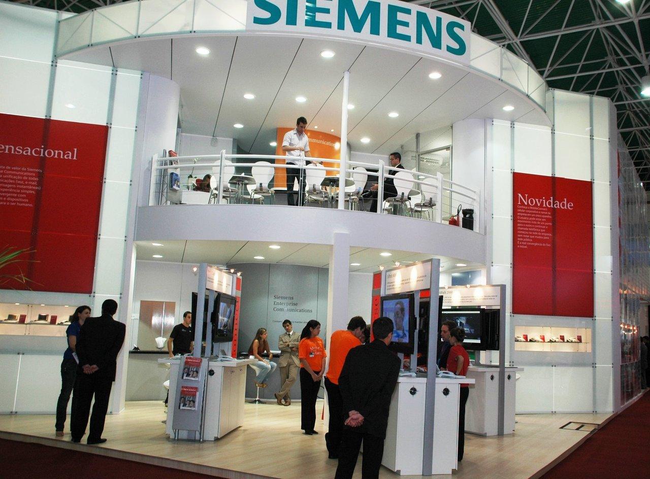 Estande Siemens