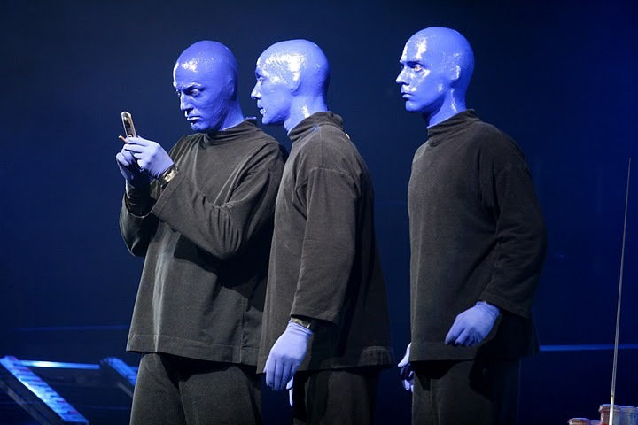 Show - Blue Man Group