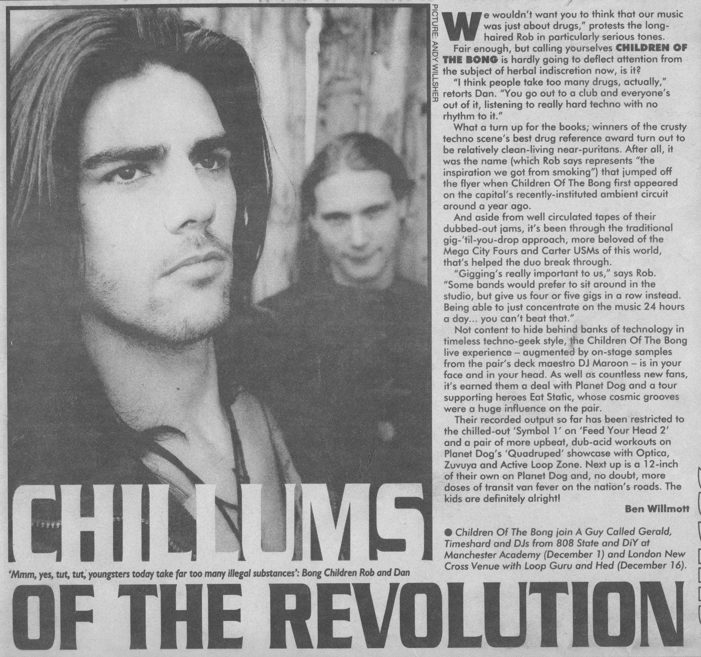 NME Interview 19.11.94