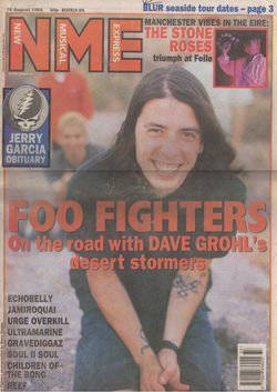 NME front cover 19.08.95