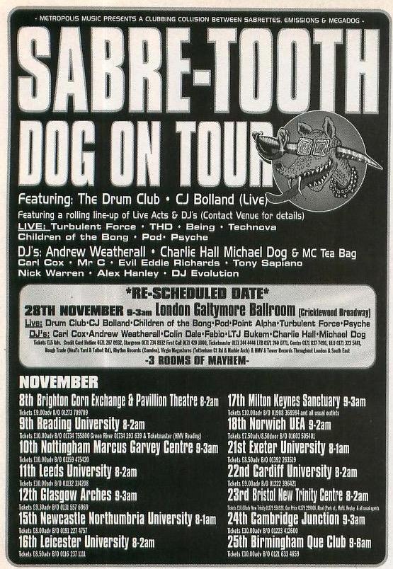 Megadog tour
