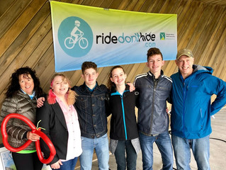 "Canadian Mental Health Association's ""Ride Don't Hide"""