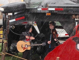 Pumkinfest performance was NOT rained out.