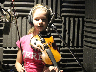 """Emily Conway wins contest with her Original Song """"`Blue Sky"""""""