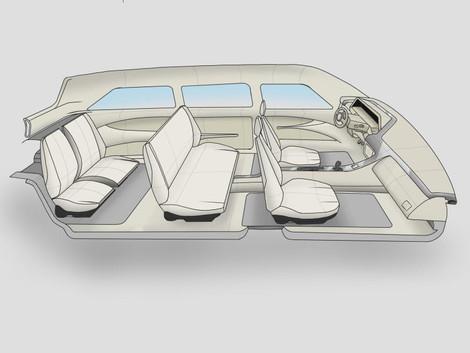 Simple Car Interior