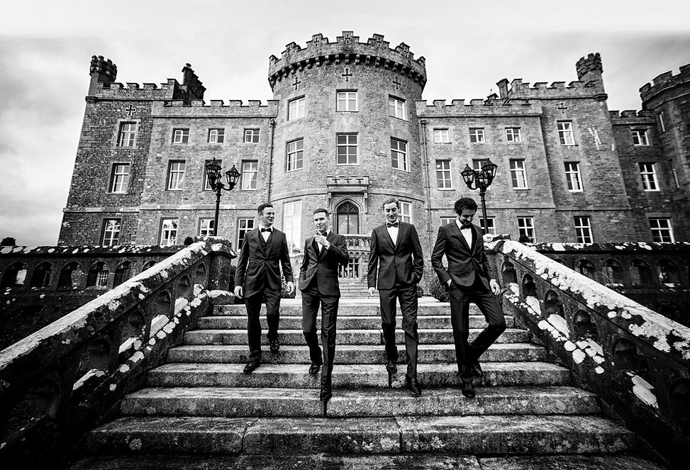 Markree castle, Sligo, Wedding