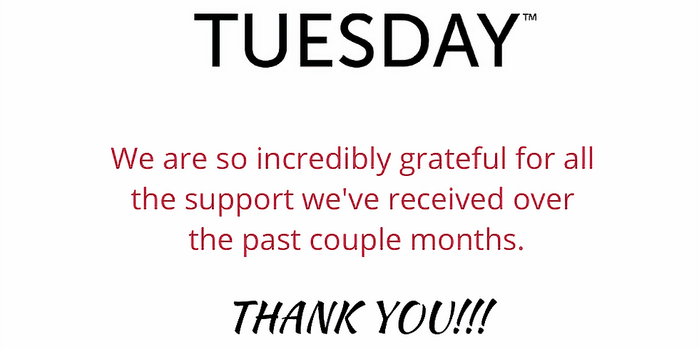 (THANKS)Giving Tuesday