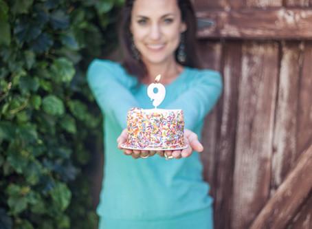 Business Birthday: 9 Years!
