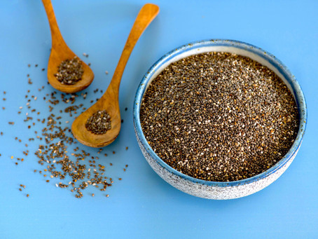 Organic Black Chia Seeds from Africa!