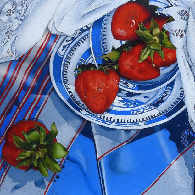 Strawberries and Stripes