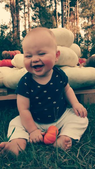 """baby pumpkin"""