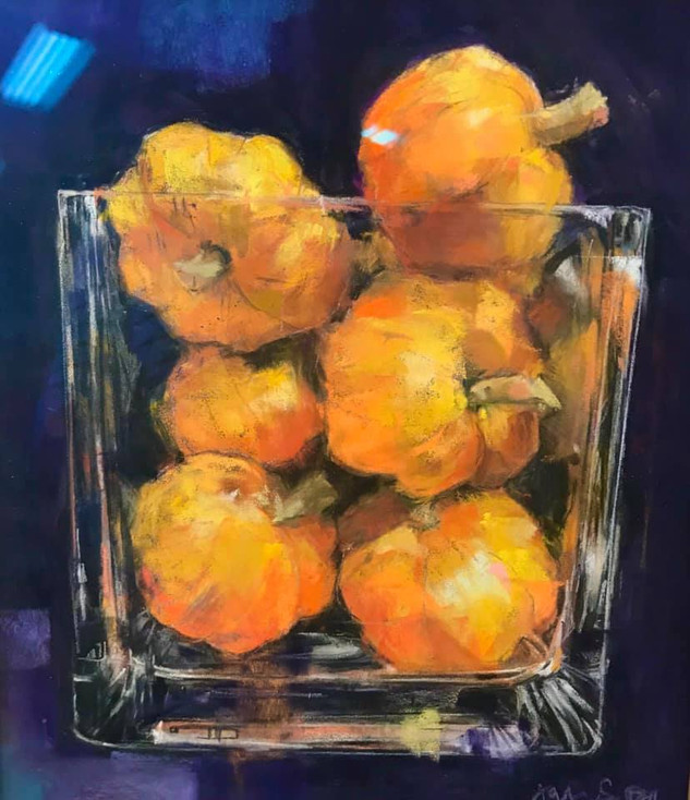 Pumpkin Love (SOLD)