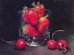 Berries in a Glass (SOLD)