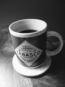 """his coffee"""
