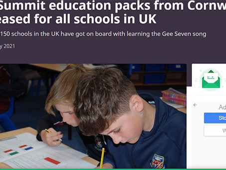 Free G7 Education Packs by Sing2G7 partner Truro School, for all UK Schools