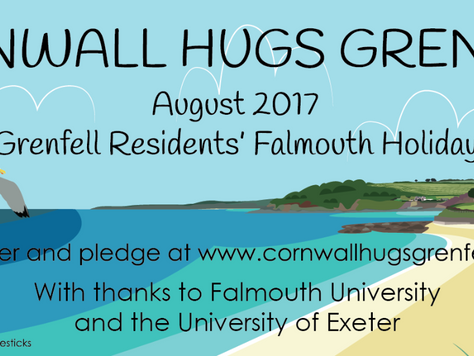 PR02a: CHG offers August family holiday in Falmouth for 30 Grenfell Tower survivors