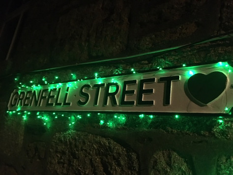 PR26: Cornwall Hugs Grenfell shines a light on '💚 Grenfell Street', Mousehole