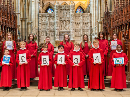 PR 07 Cornish Choristers Fund 10,000 Vaccines for Poorer Countries