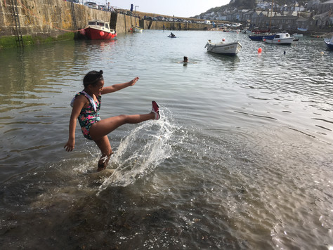 PR 20 Storm, Sunshine and Cornish Kindness for 34 more Grenfell guests this Easter