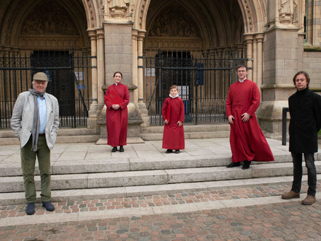 PR 01: New song by Sir Tim Rice at centre of Sing2G7 project led by Truro Cathedral's Choristers