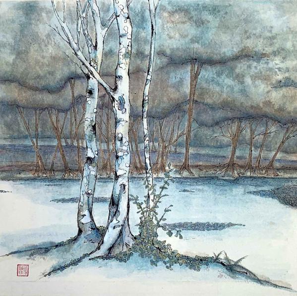 'The pond at Eichenberg'