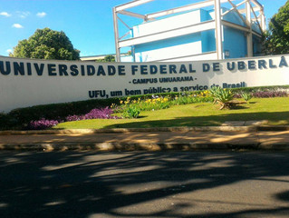 Infestação de piolhos de pombos deixa bloco da UFU interditado e alunos sem aula em Uberlândia.