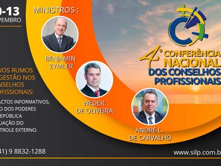 4ª Conferência Nacional dos Conselhos Profissionais