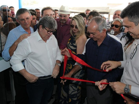 Governador inaugura Ciretran de Cajazeiras e beneficia motoristas da região