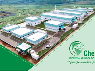 Chemone inaugura fábrica em Feira Nova