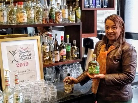 Bar da Churrascaria Palace agora mais elegante com os drinks orgânicos Cambéba. Turistas agradecem!