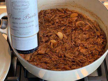 Arroz de Pato do Chef Leo Porto é mais saboroso com o Azeite Dona Berta da Chico Carreiro!