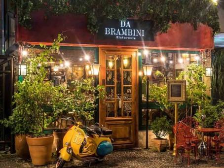 Da Brambini Ristorante - A Itália de frente para a Princesinha do Mar. Parceiro da Chico Carreiro!