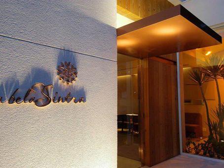 O elegantíssimo Restaurante A BELA SINTRA de São Paulo abre as portas para a Chico Carreiro.