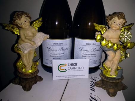 Bouquet centenário. Classe e requinte na arte de degustação vínica: Chico Carreiro e Dona Berta.