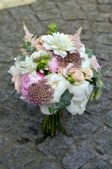 Bouquet de mariée classique élégant
