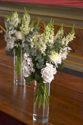Décoration autel Eglise mariage