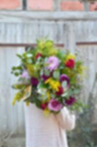 bouquet fleur champetre tendance geveze